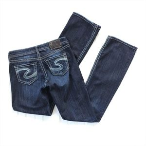 Silver Jeans Natsuki Distressed Boot Jeans 26/33